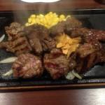 いきなりステーキが再値上げ。1g5.5円から6円へ値上げ。でも乱切りカットステーキは1g5円みたいだぞ!