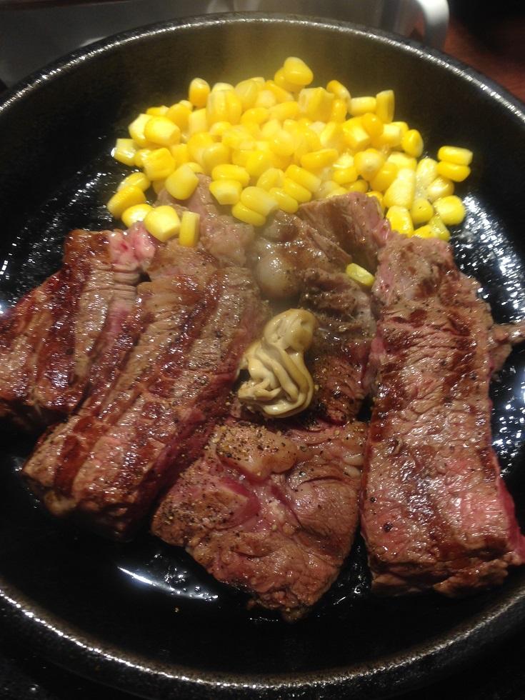 いきなりステーキのランチ「ワイルドステーキ」が1200円に値上げされていた件